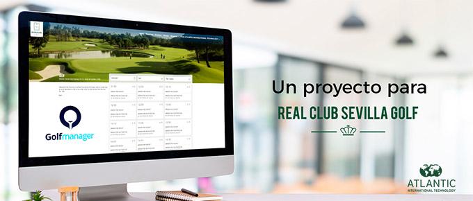Atlantic International Technology ha mejorado el sistema de reservas y alquileres del RCSG con la tecnología experta de Golfmanager